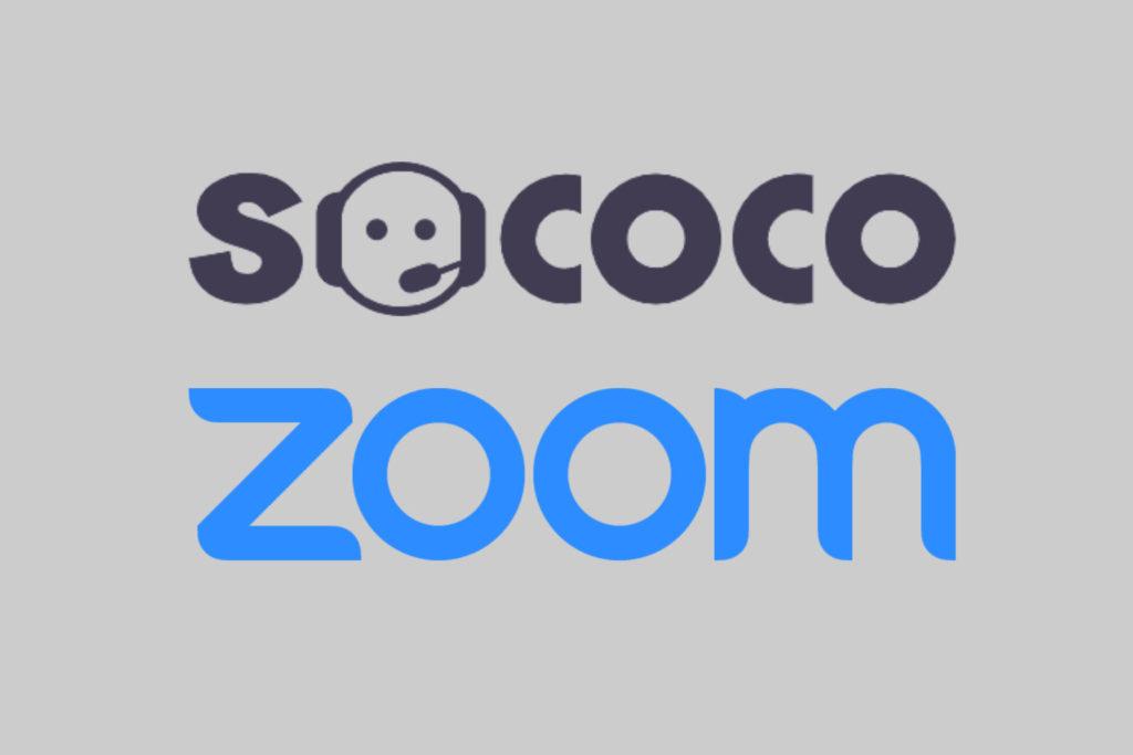 sococo and zoom logos